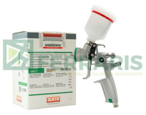 Spraygun Sata Jet Mini 4400 Hvlp 1 0 Mm Airbrush Paint With Warranty 3 Years
