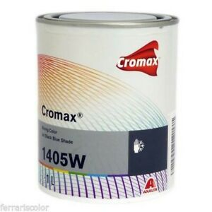 Cromax W1405 Dupont Base Matte Water 1lt Car Body Car Mixing Machine Paint