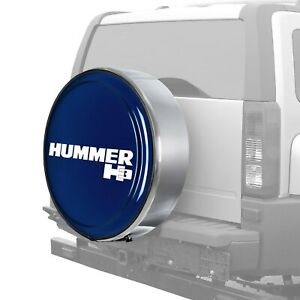 For Hummer H3 06 10 Tire Cover 32 Masterseries Midnight Blue Metallic Spare