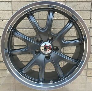 4 New 18 Wheels Rims For Nissan 350z 370z Nismo Enthusiast Track Coupe 4001