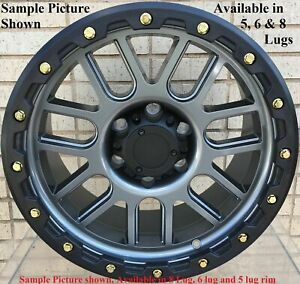 4 New 20 Wheels Rims For Ford F 350 2005 2006 2007 2008 2009 Super Duty 910