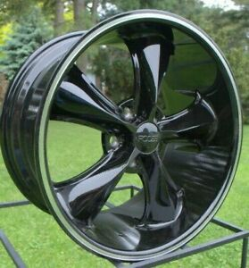 4 New 20 Staggered Rims Wheels For 2013 2014 2015 Camaro Ls Lt Rs Ss Only 5736