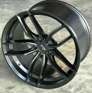 4 New 22 Staggered Wheels For 2016 2017 2018 2019 Camaro Ls Lt Rs Ss Rims 5730