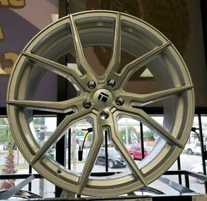 4 New 22 Staggered Rims Wheels For 2010 2011 2012 Camaro Ls Lt Rs Ss Only 5698