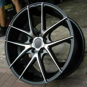 4 New 18 Staggered Rims Wheels For 2013 2014 2015 Camaro Ls Lt 5713