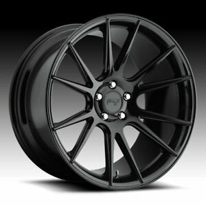 4 New 20 Staggered Rims Wheels For 2013 2014 2015 Camaro Ls Lt Rs Ss Only 5744