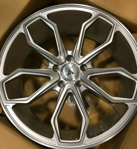 4 New 22 Staggered Rims Wheels For 2013 2014 2015 Ls Lt Rs Ss Zl1 Camaro 5682