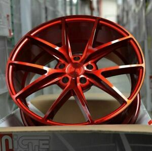4 New 20 Staggered Rims Wheels For 2013 2014 2015 Camaro Ls Lt Rs Ss Only 5720