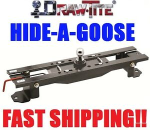 Drawtite Hide a goose Underbed Gooseneck Trailer Hitch 15 20 Ford F150 F 150 New