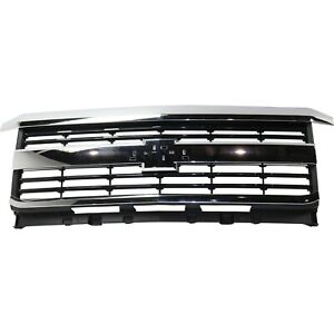 New Grille Grill For Chevy Chevrolet Silverado 2500 Hd 3500 Gm1200700 23335299