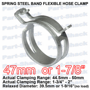 Spring Steel Band Flexible Hose Clamp For 1 7 8 Inch 47 Mm Od Hoses 1 Piece