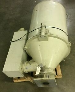 Hamilton Hopper Dryer Model Hd 400 i 480v 3 Ph 35 Diameter