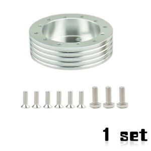 1set Durable Steering Wheel Hub Adapter Spacer For 6 Hole Fit Grant Apc 3 Hole