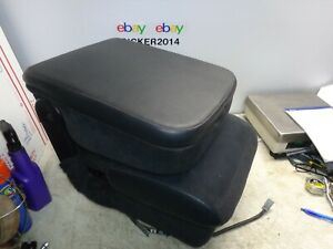 2002 2006 Dodge Ram Center Console Jump Seat Armrest Booster Storage Compartment
