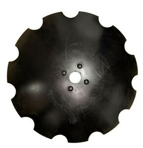 32 X 12mm Notched Disc Harrow Blade Center Hole Round 2 1 8 Fit To Rome