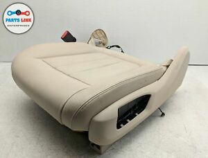 2014 2018 Bmw X5 35i Xdrive F15 Front Driver Left Lower Seat Cushion Beige Frame