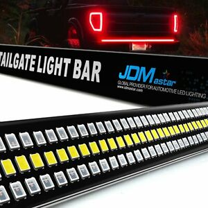 60 Led Strip Tailgate Bar Brake Reverse Turn Signal Tail Light For Pickup Truck
