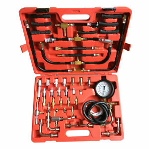 0 140psi Fuel Injection Pump Injector Tester Kit Test Pressure Gauge For Truck