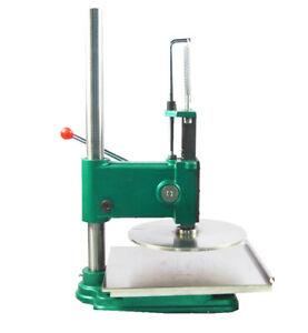 Larger Size 14 Inches Manual Household Pizza Dough Press Machine Pastry Maker
