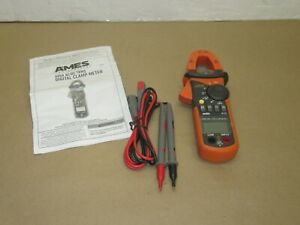 Ames Cm610a 600a T rms Ac dc Clamp Meter