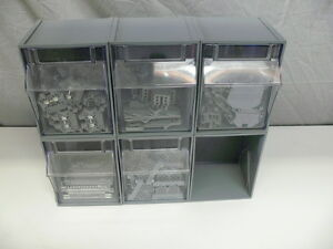 Drawers With Lot Of Terminal Blocks Contacts