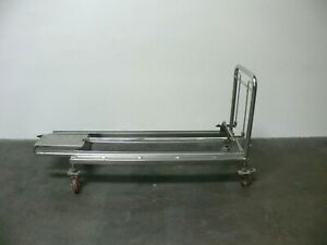 Autoclave sterilizer Stainless Steel 23 X 71 Rolling Cart