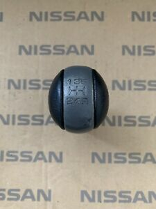 Jdm Nissan Skyline R32 R33 R34 Gtr Leather Transmission Shift Knob 32865 17u00