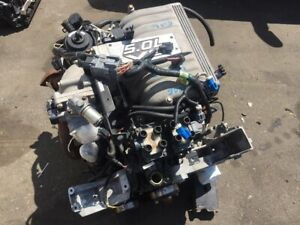 1999 2001 Ford Explorer 5 0 Gt40p Engine Assembly Tested 4 Bar Heads Mustang