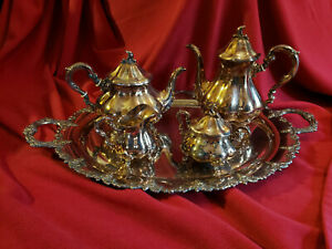 Gorham Coffee And Tea Service Sterling Silver Circa Early 20th Century