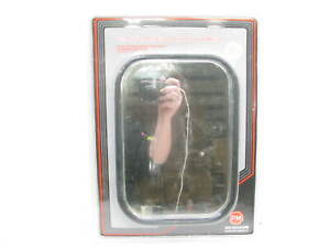 10 1 2 X 7 1 2 Pm 832 Stainless Steel Gm Style Replacement Mirror Head
