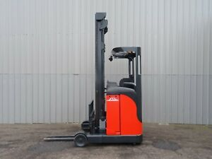 Linde R10c Used Electric Reach Forklift Truck 2489