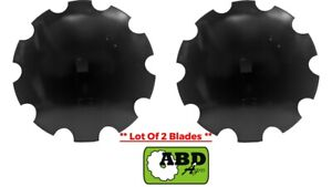16 X 3mm Notched Disc Harrow Blade Center Hole 1 Square Or 1 1 8 Square