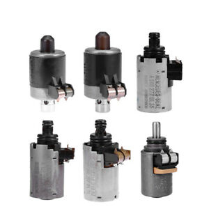 6pcs Set Of Solenoids For Mercedes Benz 5 speed Automatic Transmission 722 6
