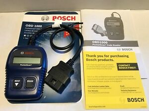 Bosch Pocket Scan Obd1000 Obd2 Code Reader Reads Erase Engine Light Codes