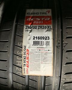 1 X New Kumho Ecsta Ps91 295 30zr20 101y Xl Tires