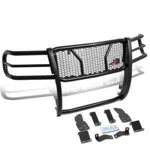 J2 Engineering Front Grille Grill Mesh Brush Guard For 2007 2013 Gmc Sierra 1500