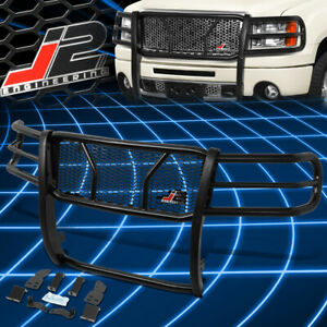 J2 Engineering For 07 13 Gmc Sierra 1500 Front Bumper Grille Grill Brush Guard