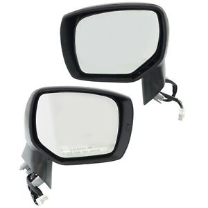 Set Of 2 Mirror Power For 2014 2018 Subaru Forester Left And Right Heated