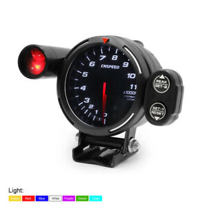 3 5 80mm Car Tachometer Rpm Gauge Meter 7 Color Led 0 11000rpm W Shift Light