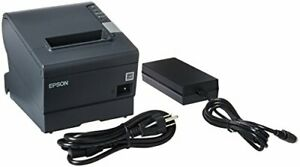 Epson Tm t88v M244a Usb Thermal Receipt Printer With Power Supply And Usb Cable