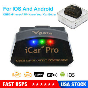 Vgate Icar Pro Wifi Ble Bimmercode For Bmw Coding For Iphone Ipad Android Obd2