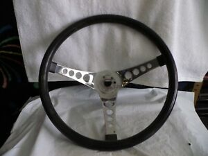 Vintage Superior Performance Products The 500 Steering Wheel 14 Black