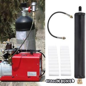 Pcp Air Filter Compressor Oil water Separator Pressure 35mpa 230mm Total Length