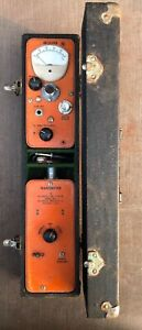 Vintage Wilkinson Line Locator Model W 3 Receiver And Transmitter