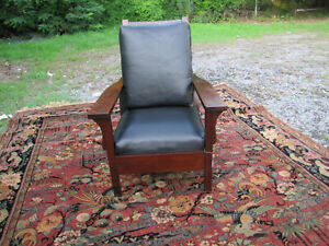 Antique Morris Chair By Stickley Bros W5656