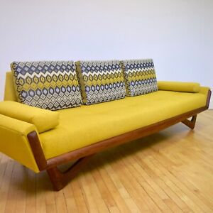 Adrian Pearsall Sofa Couch W New Sina Pearson Fabric Mid Century Modern Mcm