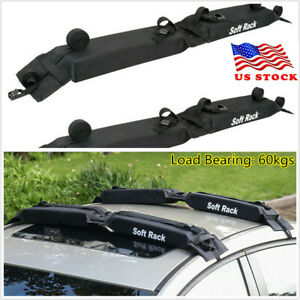 Car Cargo Roof Top Carrier Rack Luggage Storage Bag Rooftop Travel Easy Fit Usa