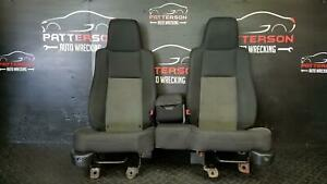 04 Ford Ranger Front Driver Left Passenger Right 60 40 Split Bench Cloth Seats