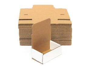 Pakkeji White Corrugated Mailers Shipping Packing Storage Assorted Sizes