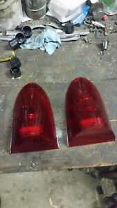 55 56 Packard Taillight Lens Pair 400 Clipper Tail Brake Light